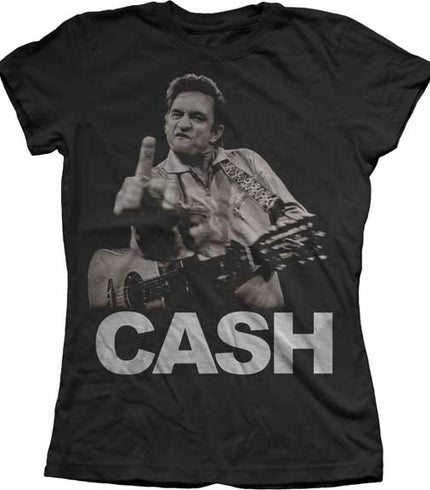 Women's T-Shirts \ Johnny Cash