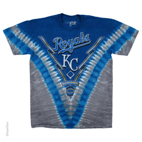 Kansas City Royals V Dye T-Shirt