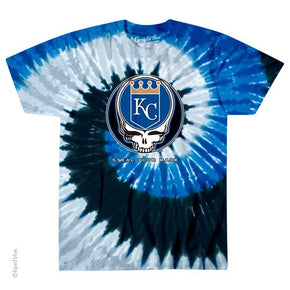 Kansas City Royals Steal Your Base Spiral Tie Dye T-Shirt