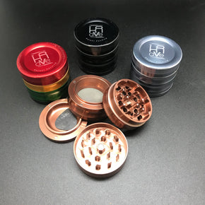 Krave Anodized 4 Piece 56mm Grinder