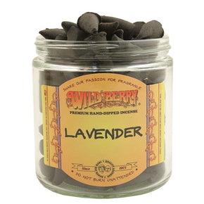 Lavender Wild Berry Incense Cones