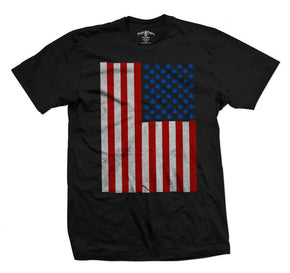 Leaf American Flag T-Shirt