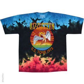 Led Zeppelin Icarus '75 Tie Dye T-Shirt