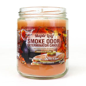 Maple Leaf Smoke Odor Candle