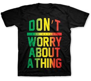 Bob Marley Kids Don't Worry Black