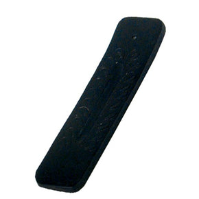 Mini Stick Black Wooden Carved Incense Burner