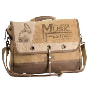 Music Festival Messenger Bag By Clea Ray