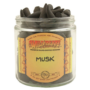Musk Wild Berry Incense Cones