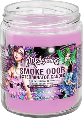 Mysterious Smoke Odor Candle