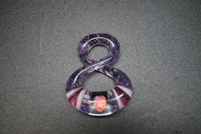 Natey Love Glass Full Size Infinity Pendants