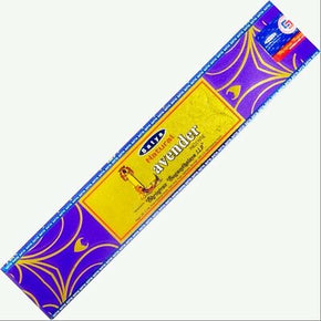 Natural Lavender Satya Sai Baba 15g Incense Sticks