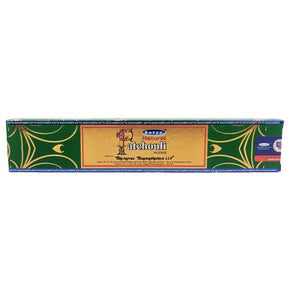 Natural Patchouli Satya Sai Baba 15g Incense Sticks