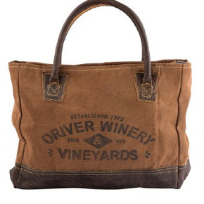 Oriver Winery Vineyards Bag By Clea Ray