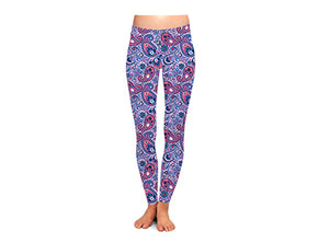 Paisley Princess Women's Everyday Leggings