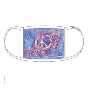 Pastel Peace Facemask