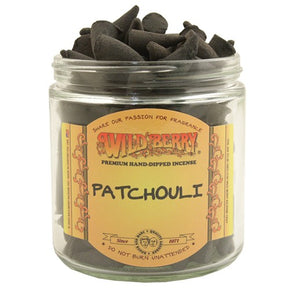 Patchouli Wild Berry Incense Cones