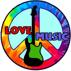Peace Love Music Patch