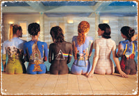 Pink Floyd Backs Metal Sign