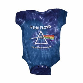 Pink Floyd Kids Chalk Dark Side Tie Dye Baby Onesie