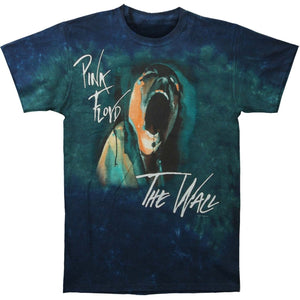 Pink Floyd The Wall Screaming Face Tie Dye T-Shirt