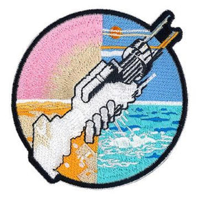 Pink Floyd Two Cross Hammers Patch