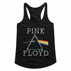 Pinnk Floyd Dark Side Prism Ladies Racerback Tank Top
