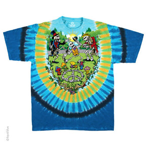 Psychedelic Shroom Tie Dye T-Shirt