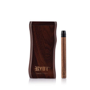RYOT Wooden Magnetic Dugout with Matching One Hitter - Large