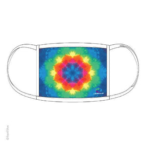 Rainbow Mandala Face Mask