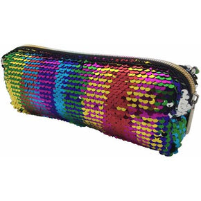 Rainbow Sequin Slim Bag