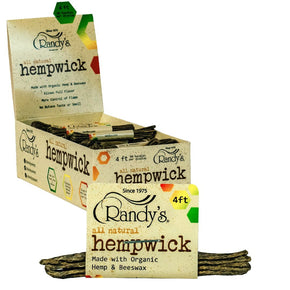 "Randy's Hempwick 4"" Bundle"