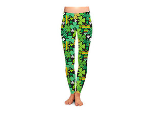 Shamrock Shake Women's St. Patrick's Day Leggings