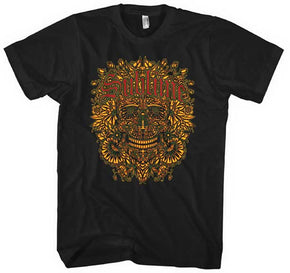 Sublime Flower Skull T-Shirt