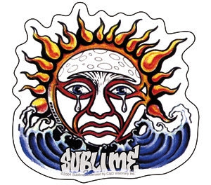 Stickers, Patches, & More! \ Stickers \ Sublime