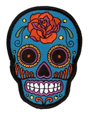 Sugar Skull Rose Patch