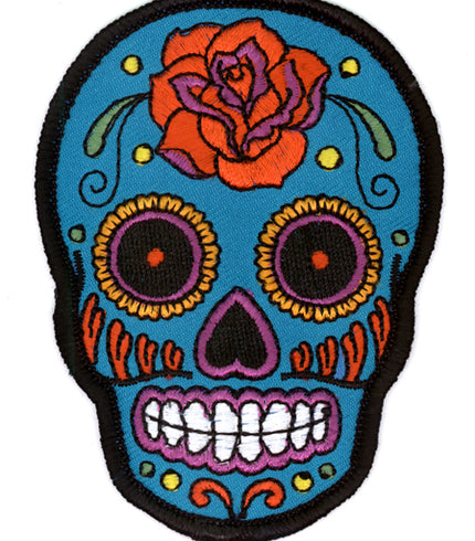 Stickers, Patches, & More! \ Patches \ Sugar Skulls