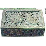 Sun and Moon Soapstone Box