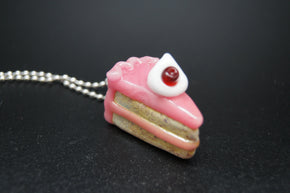 Sweet Shop Glass Pie Slide Pendant