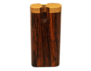 Swivel Top Cocobolo Dugout - Large