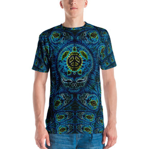 Terrapin Mind Tie Dye Print T-Shirt by Feed a Hippie