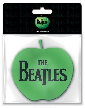 The Beatles Apple Logo Rubber Die Cut Magnet