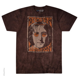 The Beatles Live In NYC Lennon Tie Dye T-Shirt