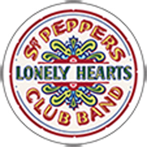 The Beatles Sgt Pepper Lonely Hearts Club Band Sticker