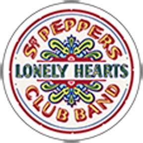 The Beatles Sgt Peppers Lonely Hearts Club Band Patch