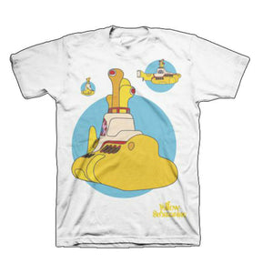 The Beatles Yellow Submarine Bubbles T-Shirt