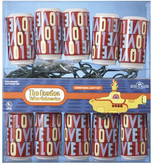 The Beatles Yellow Submarine Love Lights Set