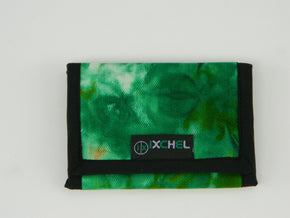 Three Fold Tie Dye Denim Wallet