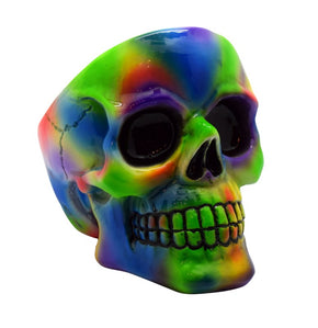 Tie Dye Skull Ashtray