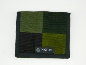 Two Fold Patchwork Corduroy Wallet