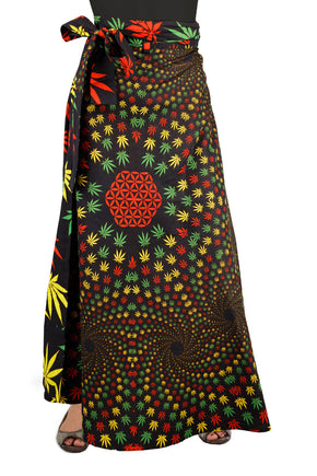 Weed Vortex Wrap Skirt
